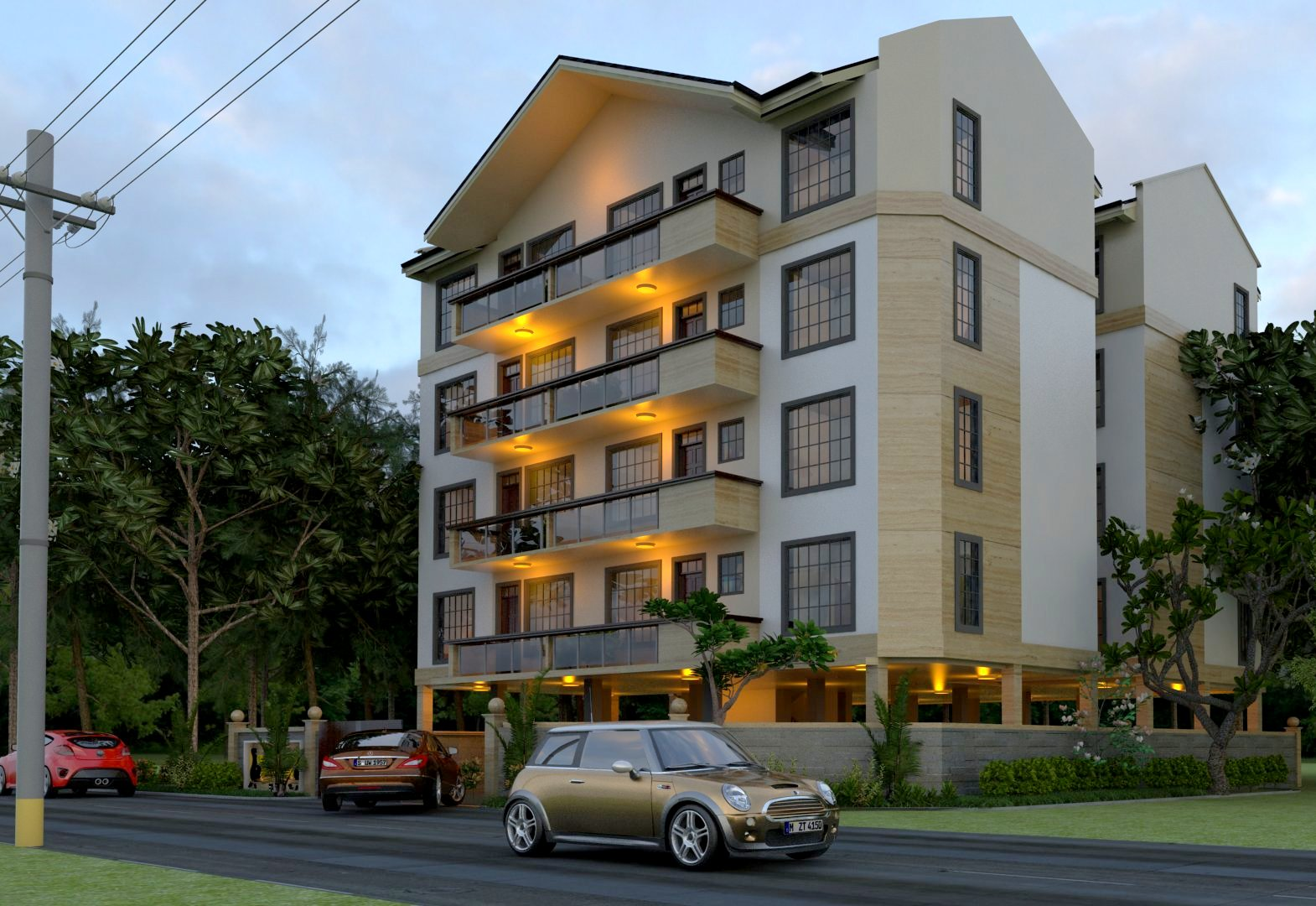 CHRYSTAL LUXURY APARTMENTS-KILELESHWA