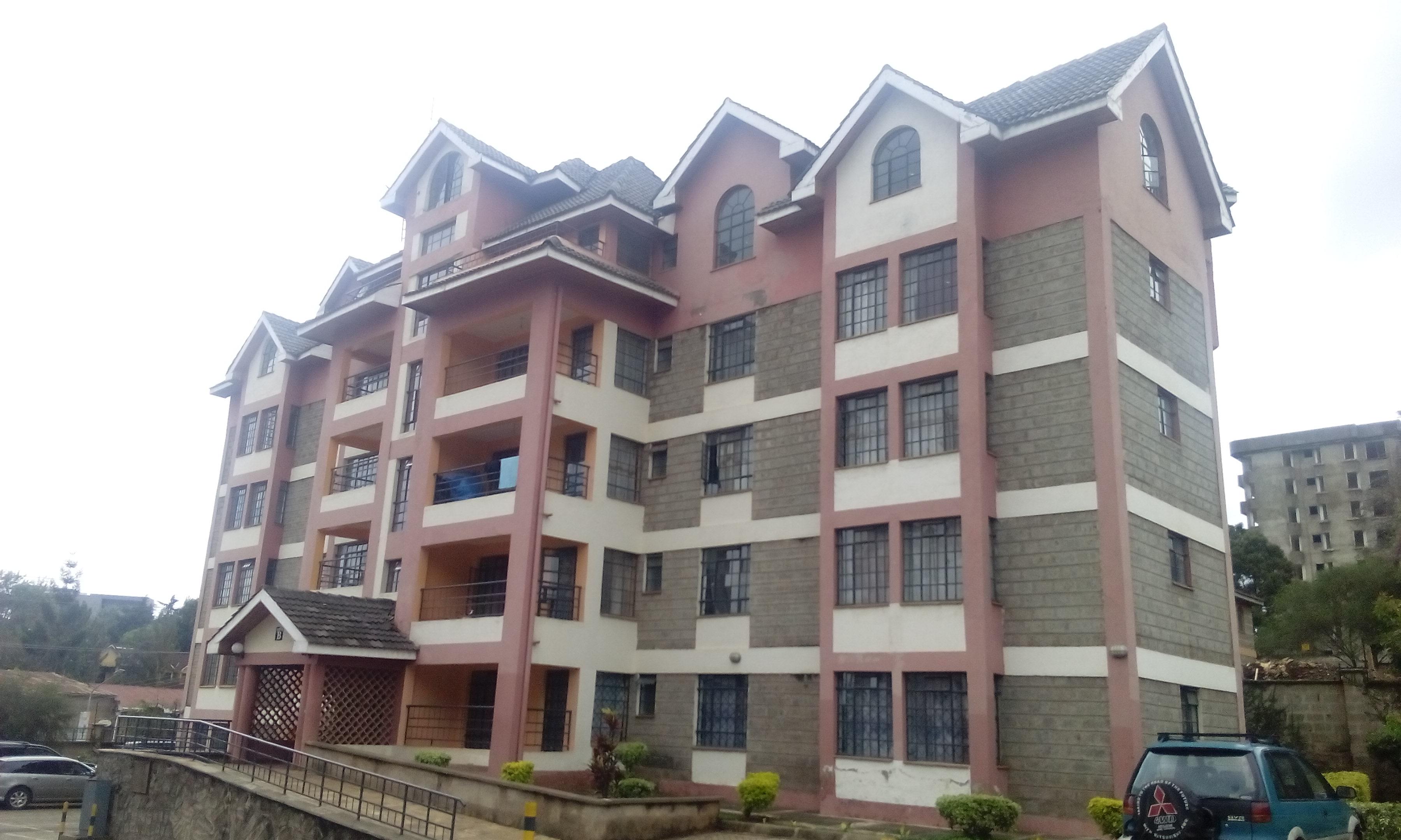 4 bedroom apartment in Kileleshwa