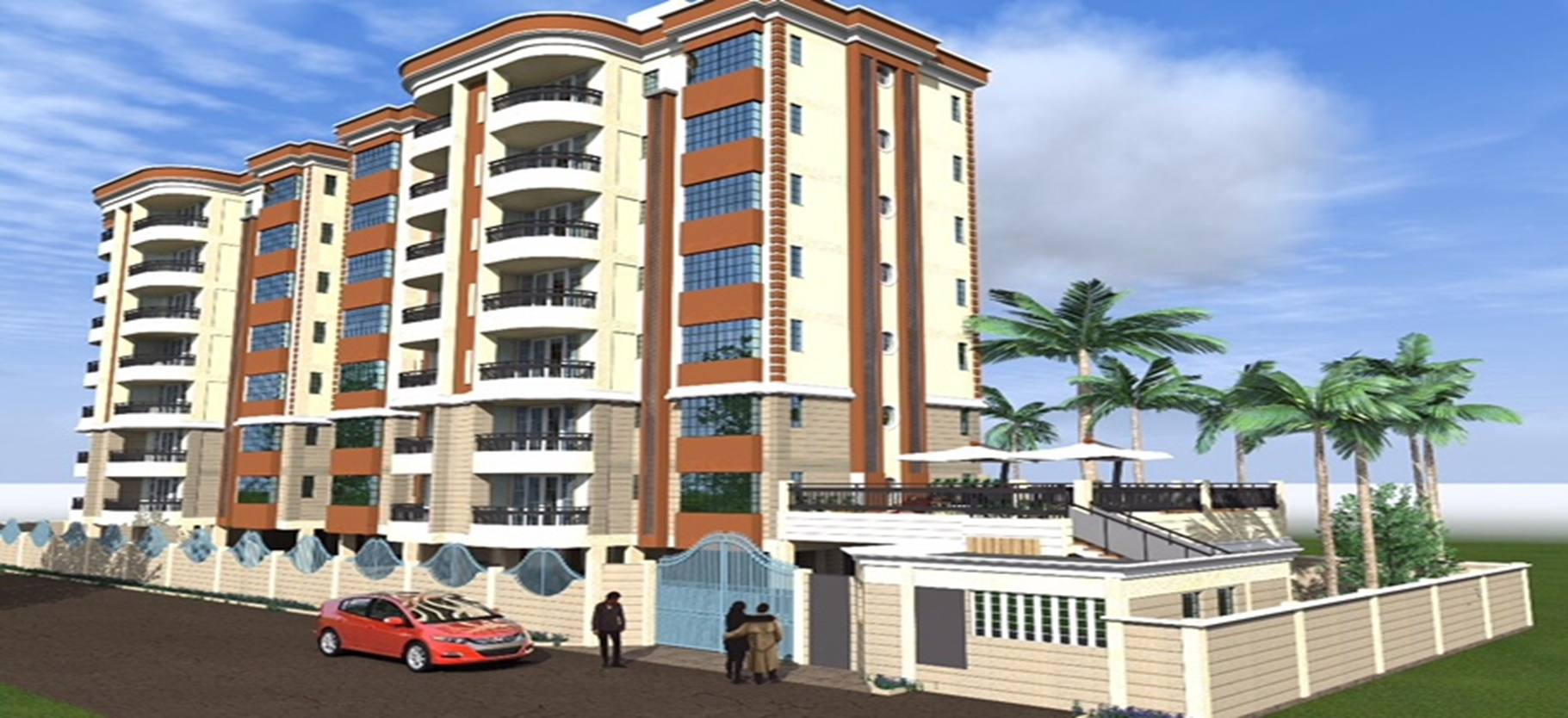 Finheights Apartments – Kikuyu Road, Riruta