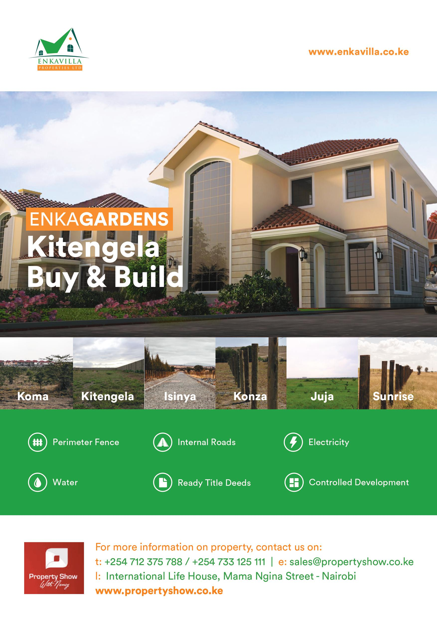Enka Gardens Kitengela